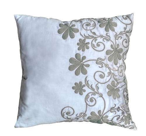 Satin Embroidered Pillow Manufacturers