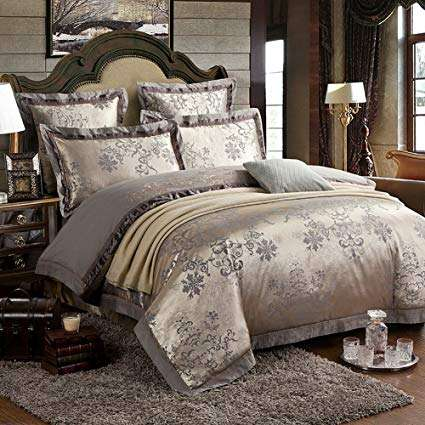 Satin Embroidered Sheet Manufacturers