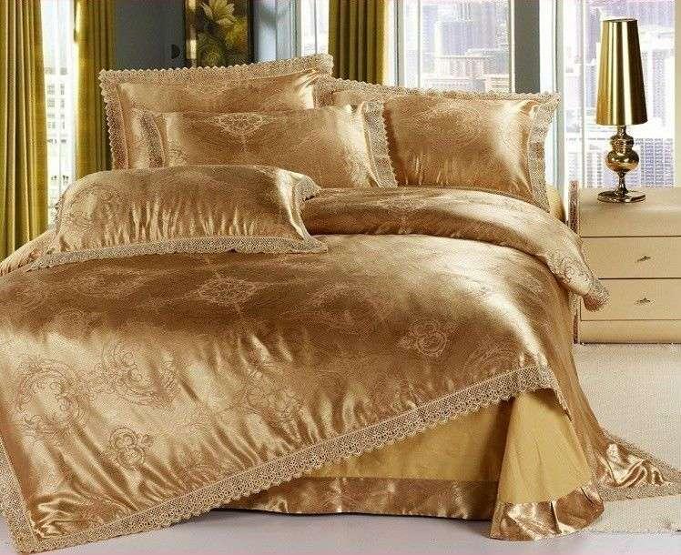 Satin Embroidery Comforter Set Manufacturers