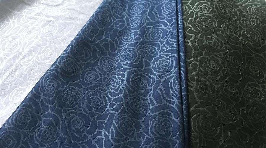 Satin Fabric Emboss Manufacturers