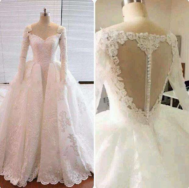 Satin Fabric Wedding Dress Manufacturers
