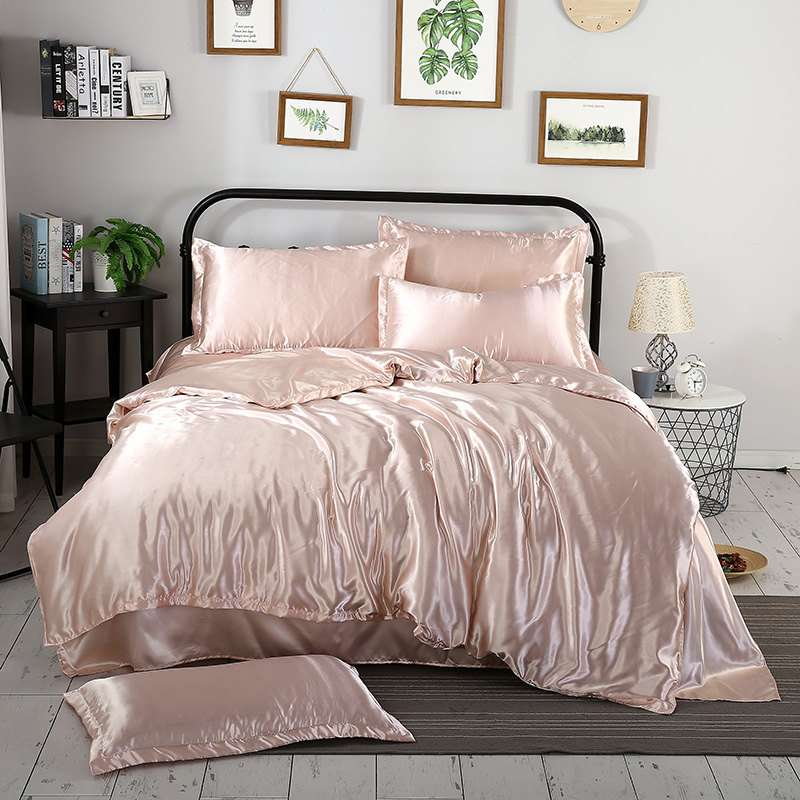 Satin Home Bed Cover Manufacturers
