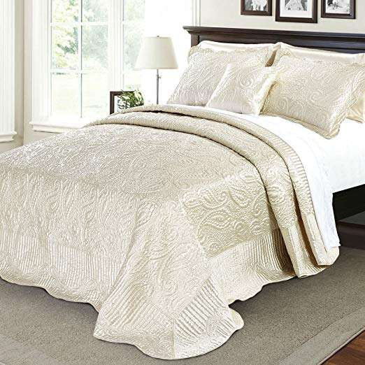 Satin Home Bedspread Manufacturers