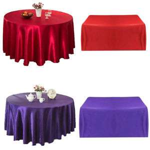Satin Home Table Cloth Manufacturers