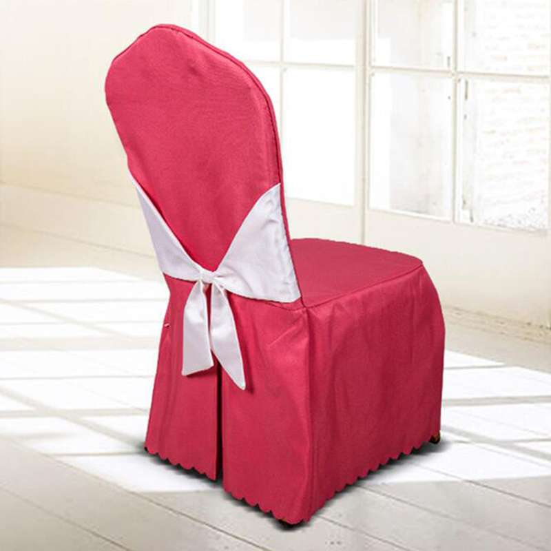 Satin Hotel Chair Cover Manufacturers