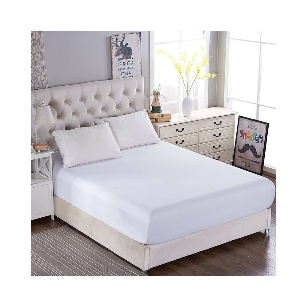 Satin Hotel Fitted Sheet Manufacturers