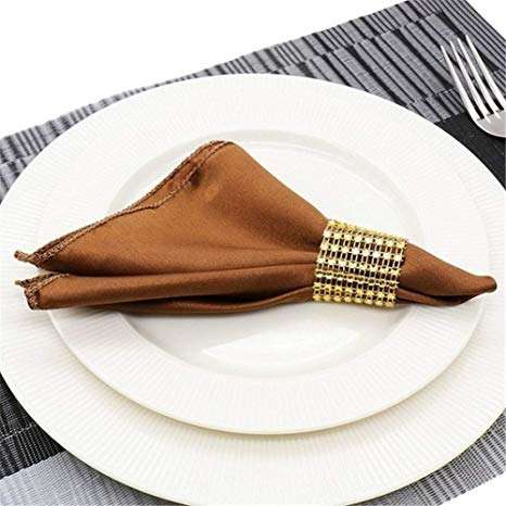 Satin Hotel Table Napkin Manufacturers