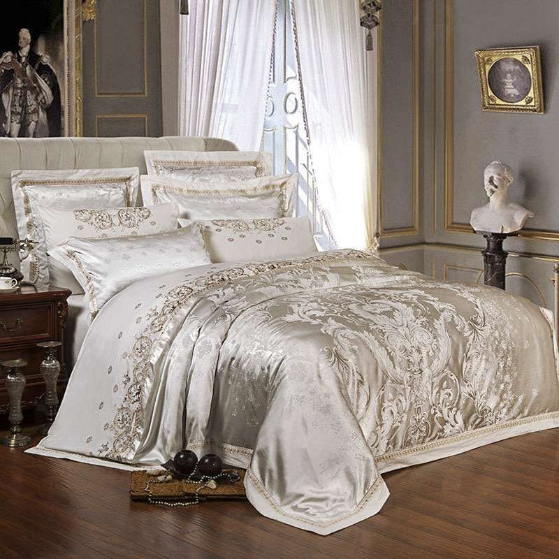 Satin Jacquard Bed Cover Manufacturers