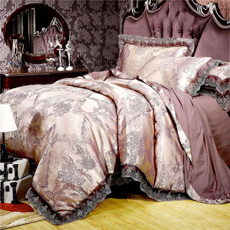 Satin Jacquard Bedding Set Manufacturers