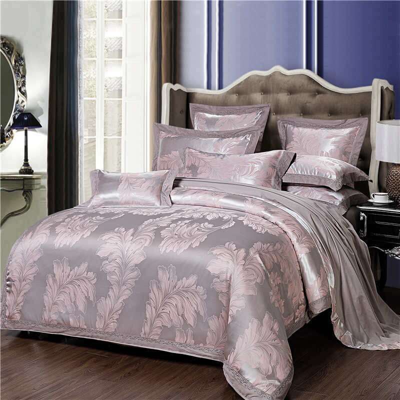 Satin Jacquard Bedding Sheet Manufacturers