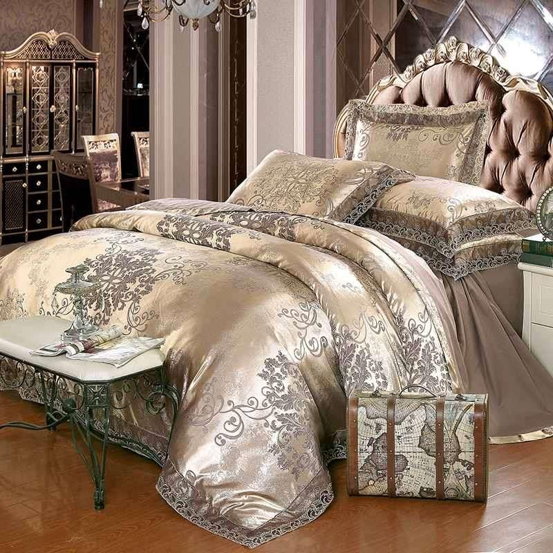 Satin Jacquard Comforter Set Manufacturers