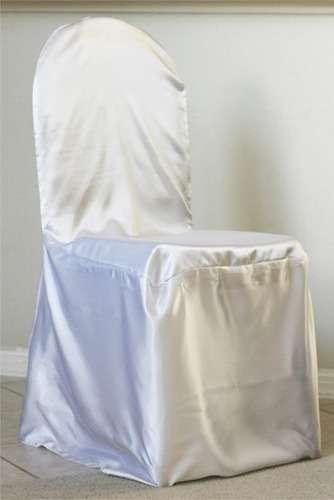 Satin Plain Chair Cover Manufacturers