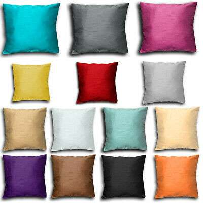 Satin Plain Cushion Cover Manufacturers