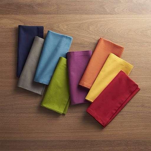Satin Plain Dyed Table Napkin Manufacturers