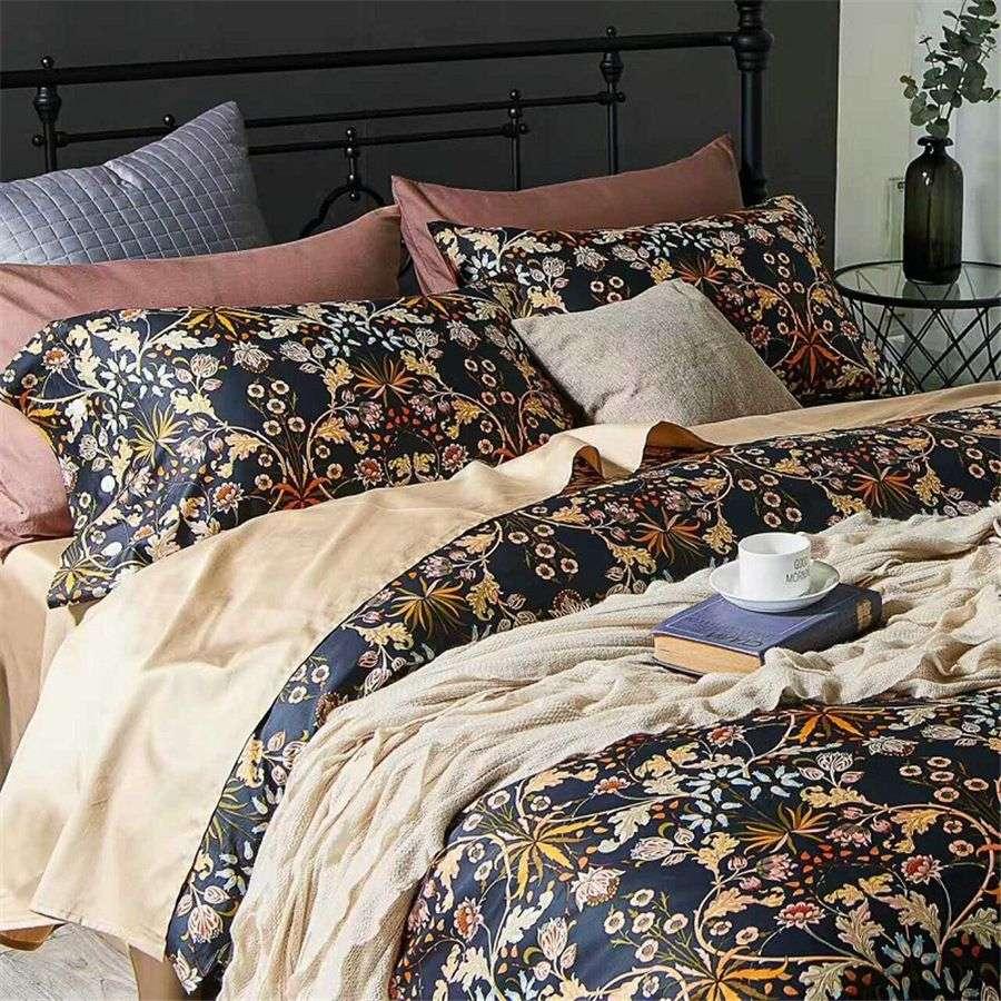 Satin Printed Bedding Sheet Manufacturers