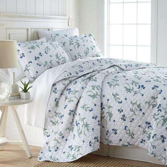 Satin Printed Bedspread Manufacturers