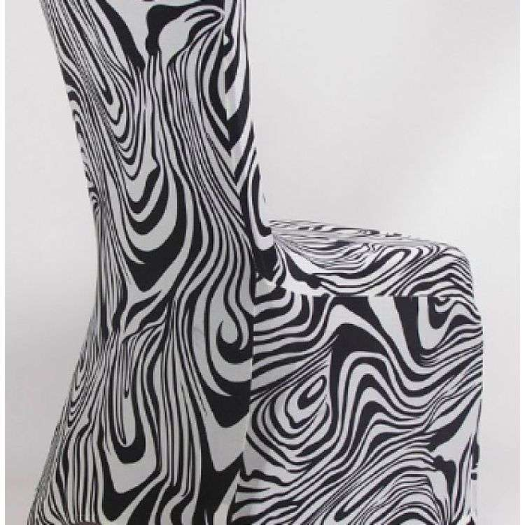 Satin Printed Chair Cover Manufacturers