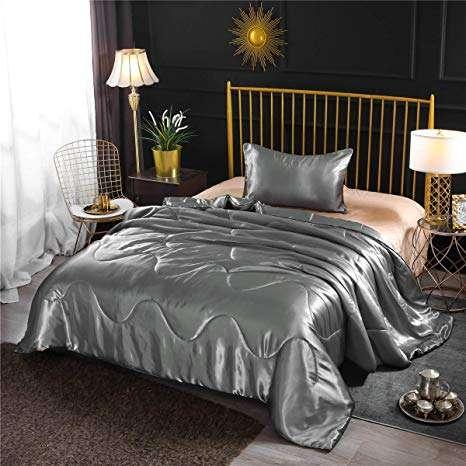 Satin Quilted Comforter Set Manufacturers