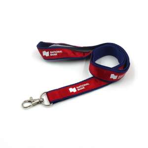 Satin Ribbon Stitched Lanyard Manufacturers