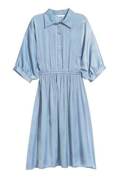 缎面衬衫裙 制造商