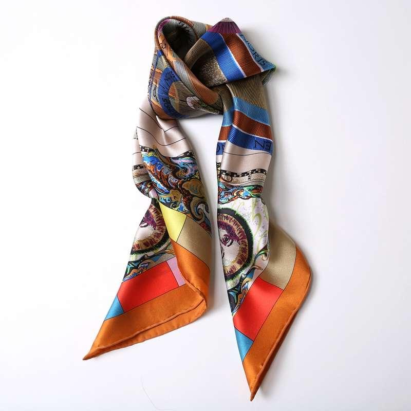 绸缎真丝围巾 制造商