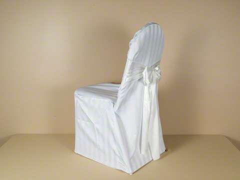 Satin Stripe Chair Cover Manufacturers