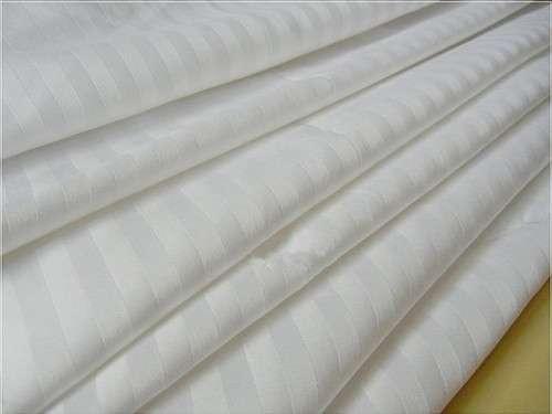 Satin Stripe Cotton Fabric Manufacturers