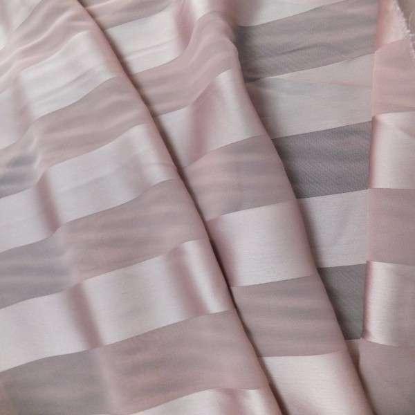 缎面条纹雪纺 制造商