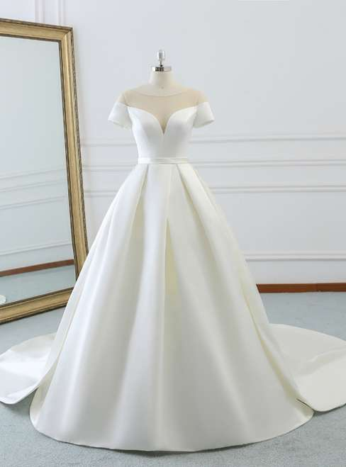 Satin Wedding Gown Manufacturers