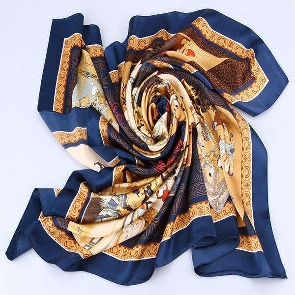 Scarf Square Silk Manufacturers
