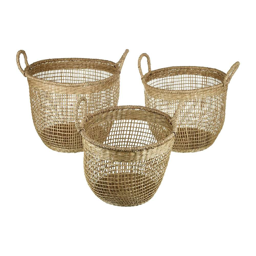 Seagrass Basket Set Importers