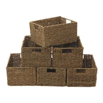 Seagrass Wooden Basket Manufacturers