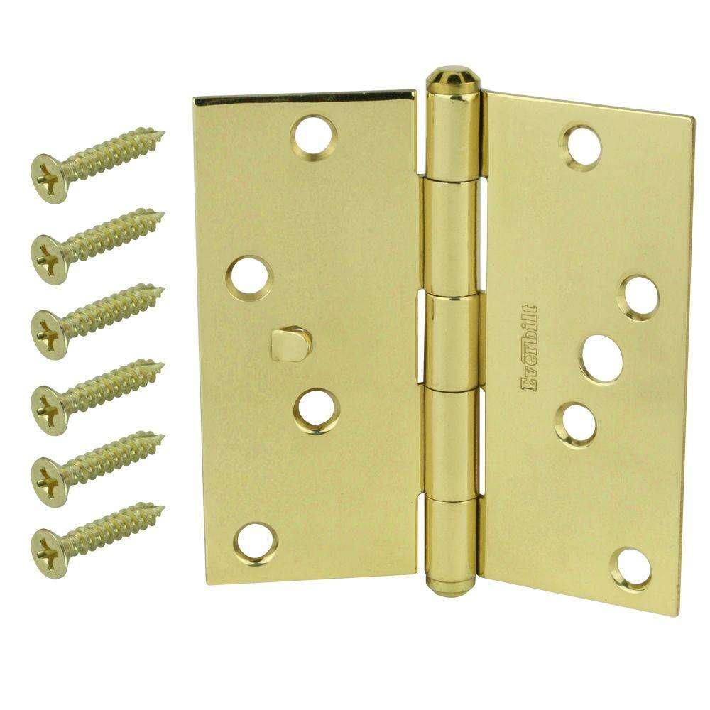 安全黄铜门铰链 制造商