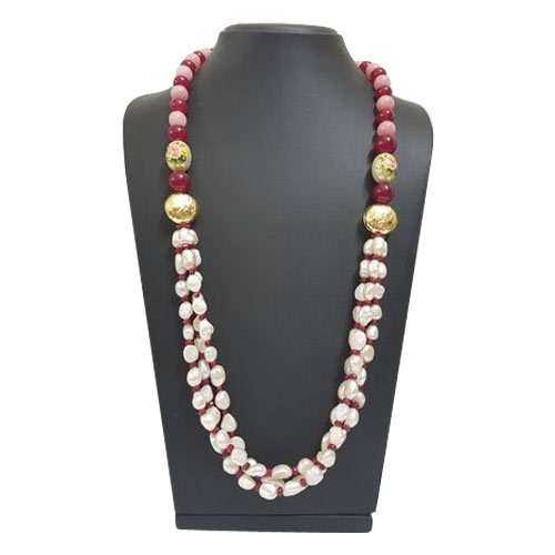 Semi Precious Bead Necklace Manufacturers