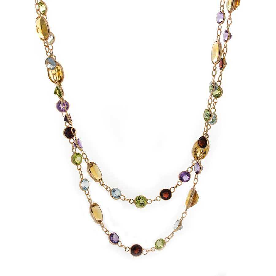 Semi-Precious Gemstone Necklace Manufacturers