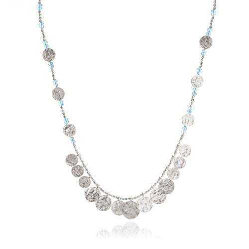 Semi-Precious Silver Necklace Manufacturers