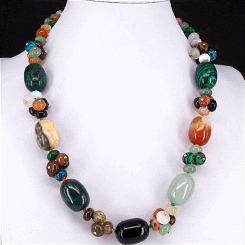 Semiprecious Stone Necklace Manufacturers