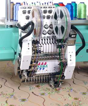 Sequin Device Embroidery Machine Manufacturers
