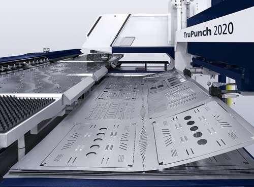 Sheet Metal Fabrication Punching Manufacturers