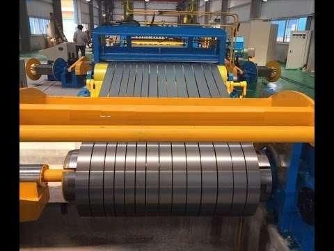 Sheet Metal Slitting Line Manufacturers