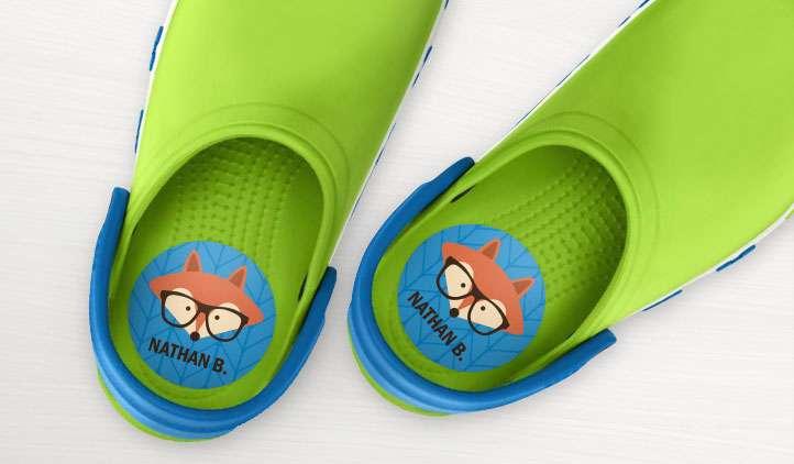 鞋贴标签 制造商