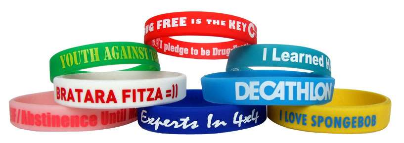 Silicon Printing Wristband Manufacturers