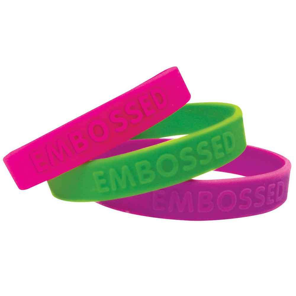 Silicone Embossed Bracelet Manufacturers