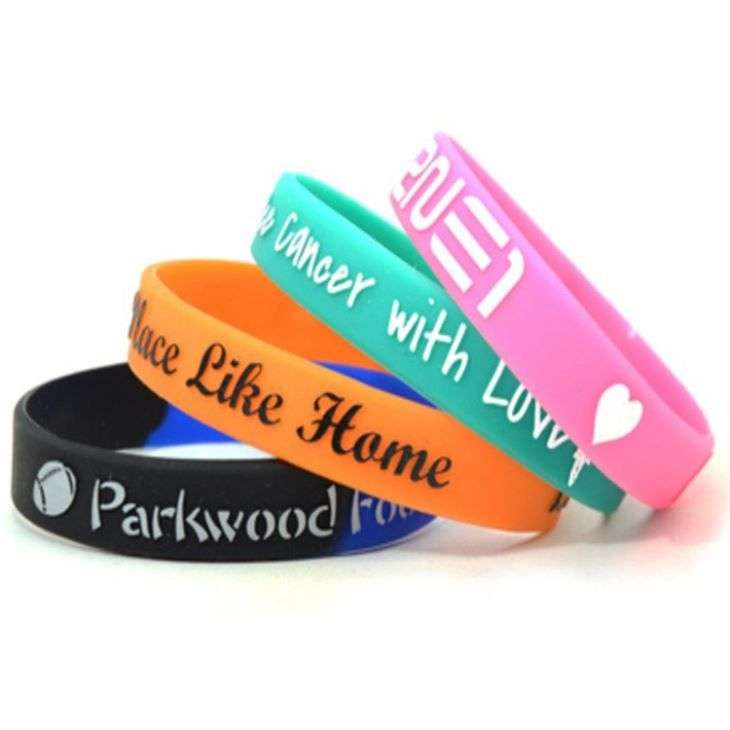Silicone Printed Bracelet Manufacturers
