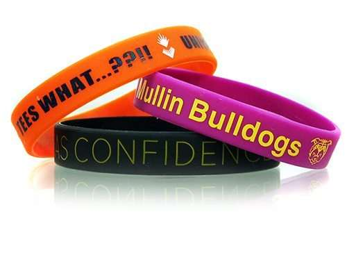Silicone Printed Wristband Manufacturers