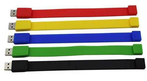 硅胶USB腕带 制造商