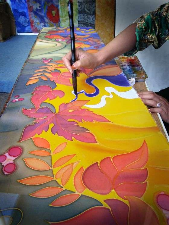 Silk Art Paint Manufacturers