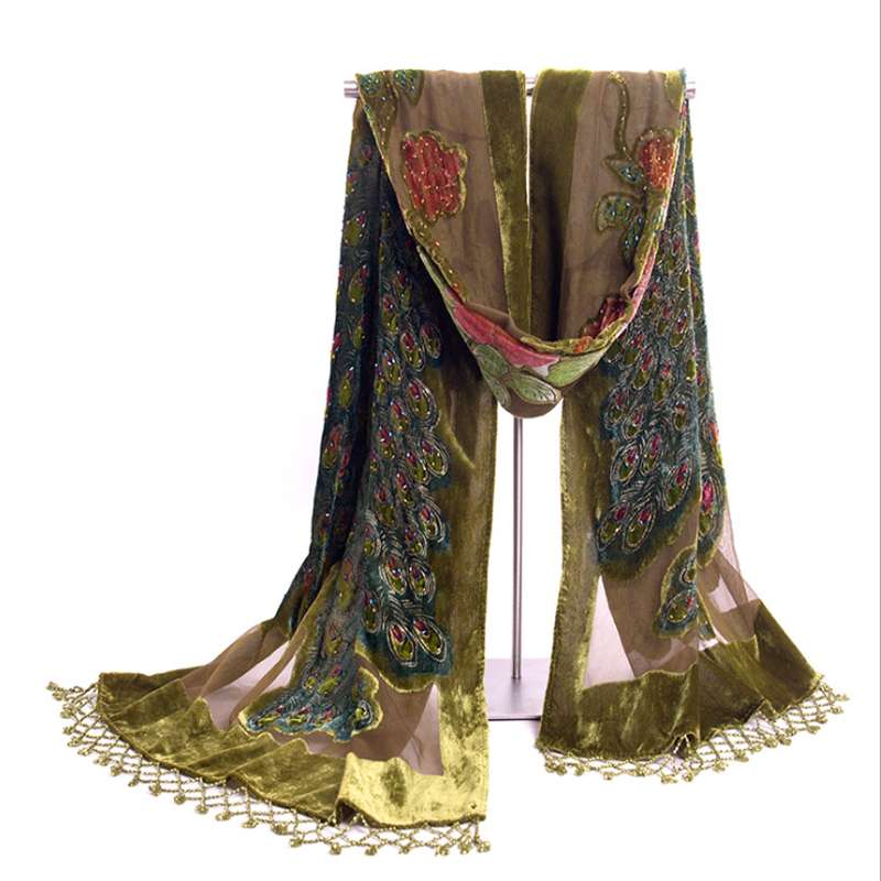 Silk Beaded Shawl Manufacturers