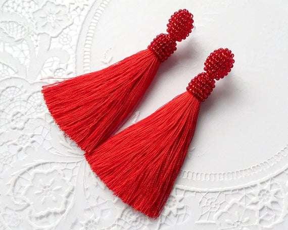 Silk Beaded Tassel Manufacturers