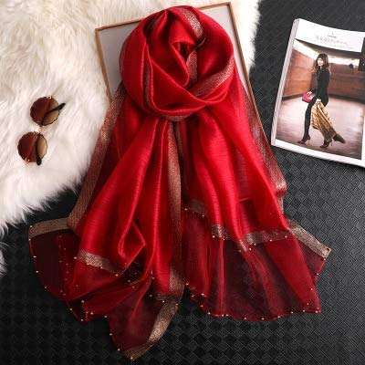 Silk Beading Scarf Importers